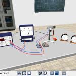 Umsetzung eines Virtual-Reality-Experiments zum Millikan-Versuch