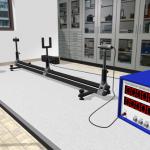 Umsetzung eines Virtual-Reality-Experiments zur Reichweite radioaktiver Strahlung