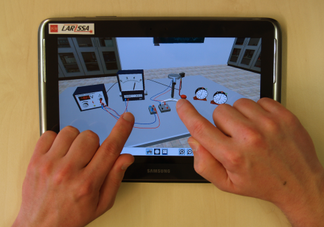 Virtual-Reality-Experimente auf dem Tablet